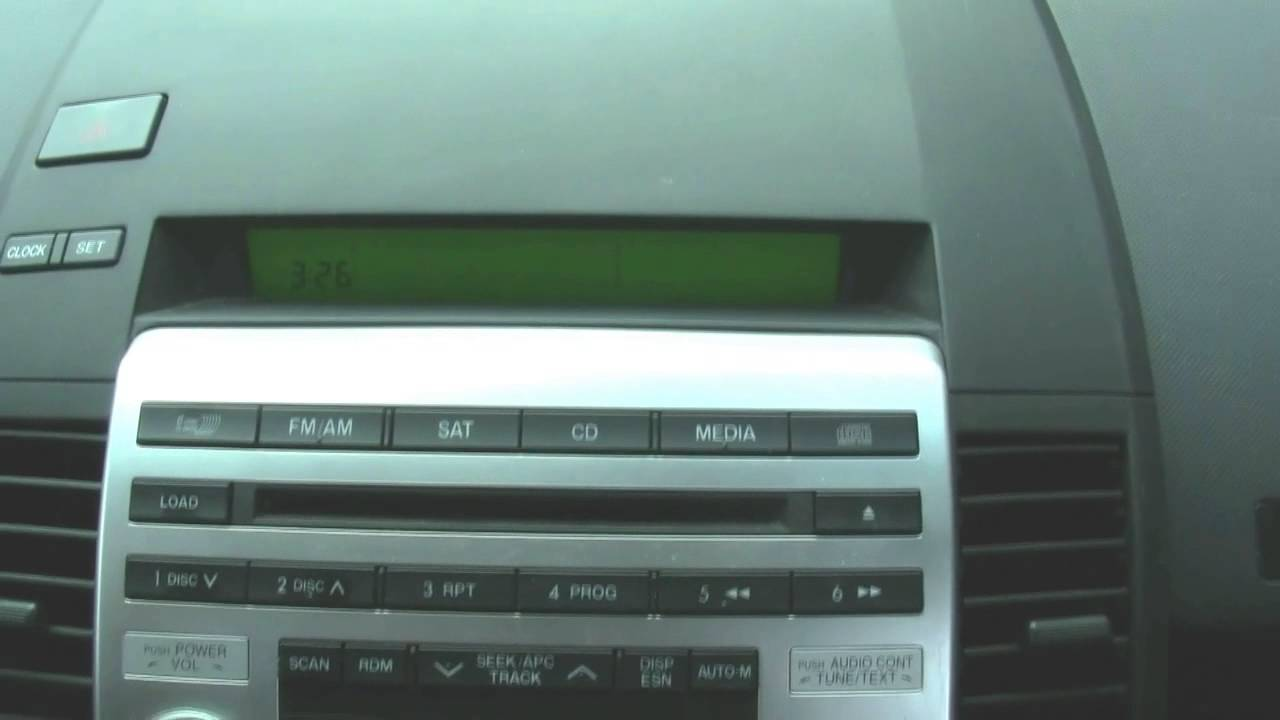 How to set the clock and radio for a mazda youtube sciox Images