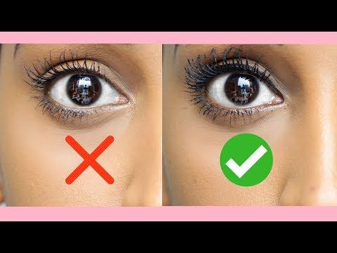 FULLER LONGER LASHES| How to apply Mascara| Segen Misghina