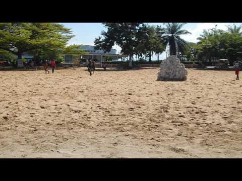 Burundi: A public beach on Lake Tanganyika in Bujumbura.