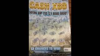 CASH X60 NY lottery ticket #2
