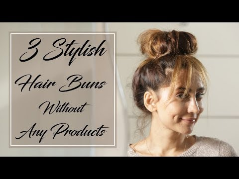 3-stylish-hair-buns-without-any-products-|-anusha-dandekar