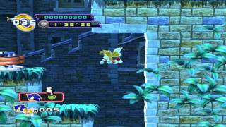 Sonic The Hedgehog 4:Episode 2 (Beta 8)-Tails Alone,sort of...
