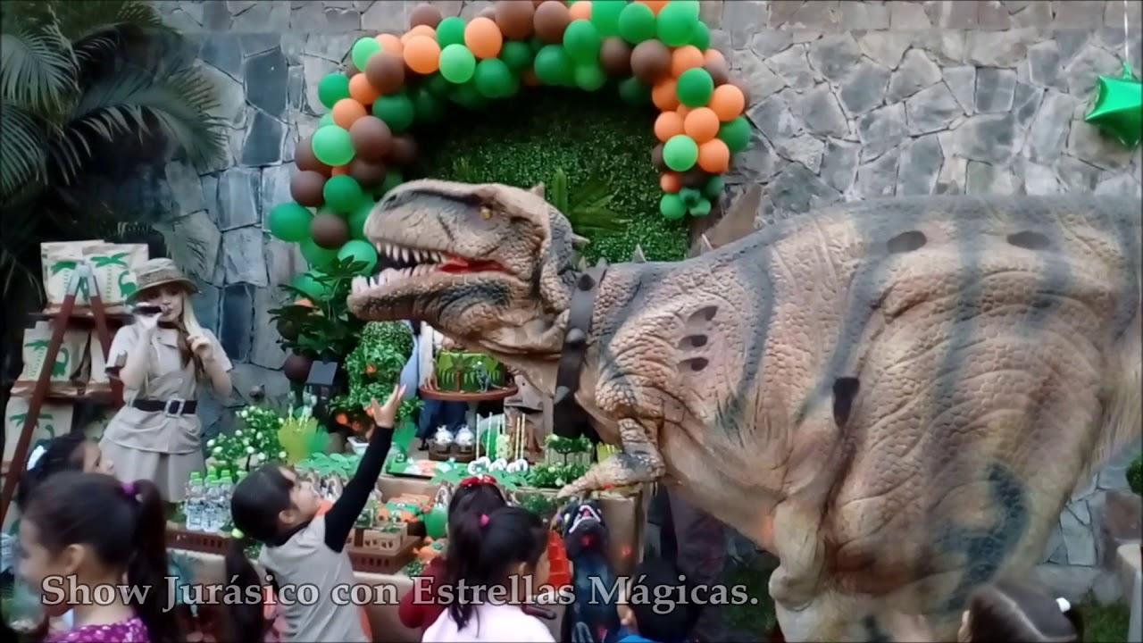 Show Infantil Jurásico (Dinosaurio) - Cumpleaños Feliz con Estrellas Mágicas!!!