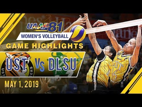 Download UAAP 81 WV: UST vs. DLSU | Game Highlights | May 1, 2019