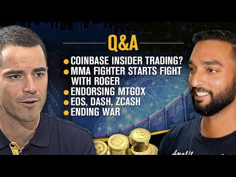 """Roger Ver Interviewed by Crypt0 💥- """"Bitcoin Jesus"""" Answers Your Burning Questions 🔥"""