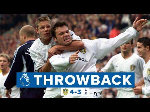 Seven goal thriller! | Leeds United 4-3 Tottenham Hotspur | Premier League Throwback | 2000/01