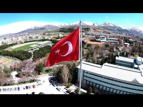 Atatürk Üniversitesi Hava Çekimi