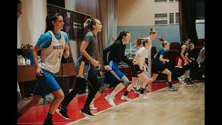 Тренировка баскетбольной команды ПРЕМЬЕР-ЛИГИ НИКА (Сыктывкар)