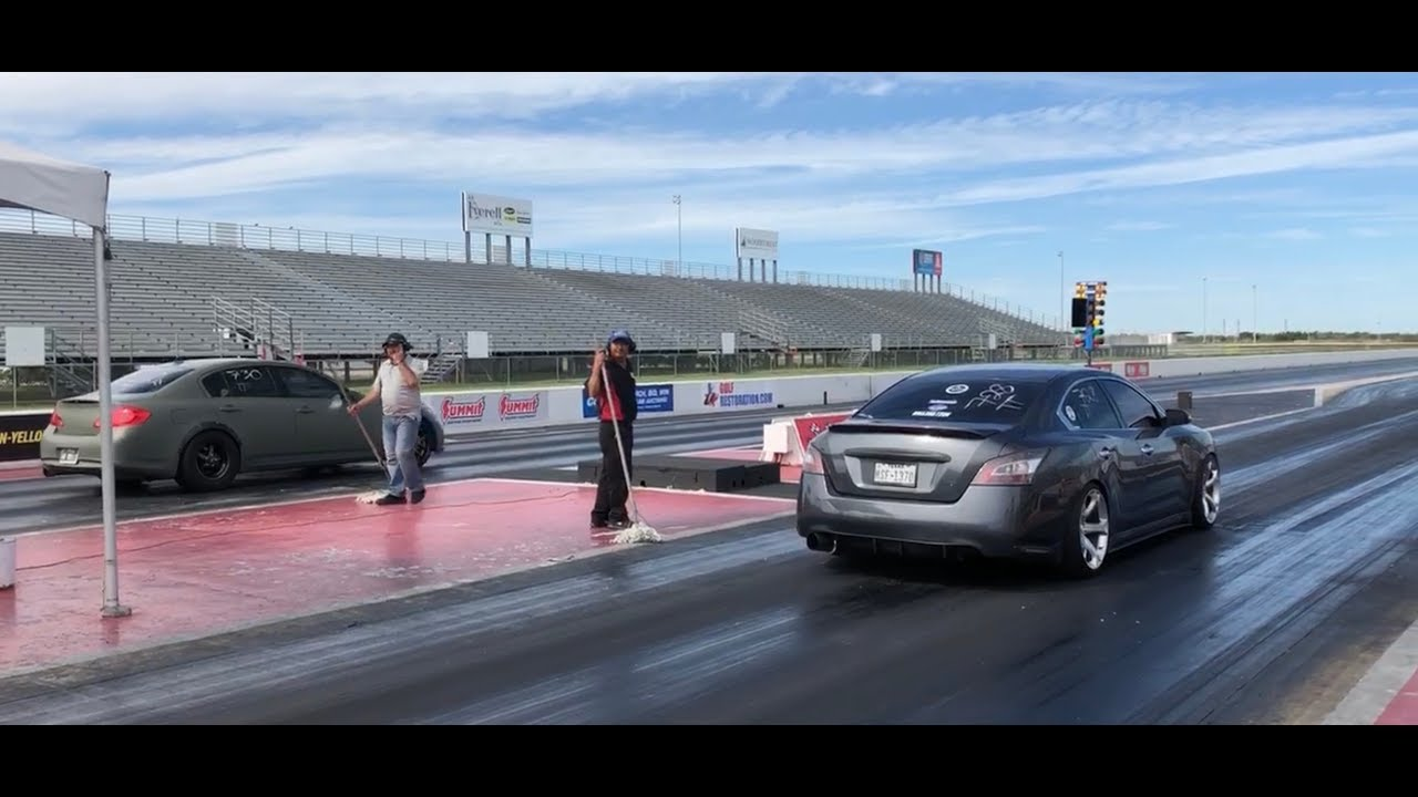 2012 6MT 7th Gen Maxima IN THE 13s! FIRST TIME AT A 1/4 TRACK!