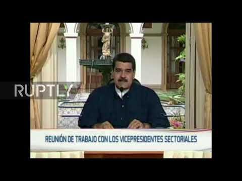 Venezuela: Maduro blasts new US sanctions as 'economic coup'
