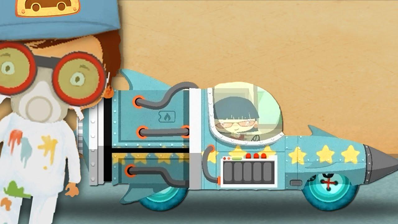 Dessin anim rocket dessins anim s camions dessins anim s cars cartoon car wash youtube - Coloriage car wash ...