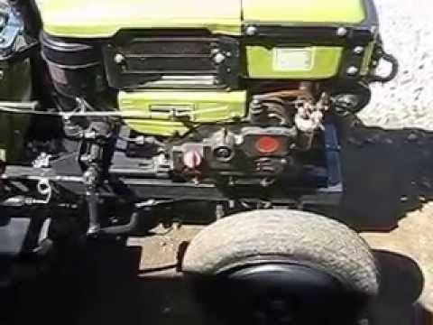 Самодельный трактор сам пашет 66