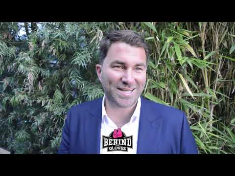 "EDDIE HEARN ""THERE WAS A GOOD CHANCE [AMIR KHAN] WAS GONNA GET STOPPED""/ GGG SPLIT W/ ABEL SANCHEZ"