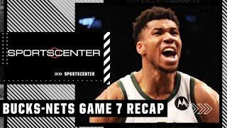 Tim Legler breaks down OT of Game 7 between Bucks and Nets | SportsCenter