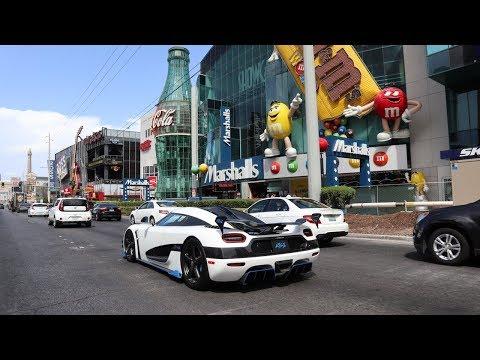Taking Our Koenigsegg Agera RS to Las Vegas!