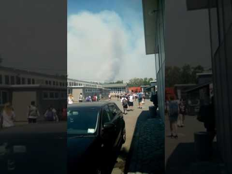 Chch fire from cashmere high school by Kahu