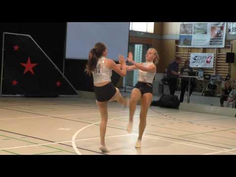 Rock Dance Company - Championnat Suisse 2016 - Aurore & Angie - Finale