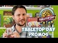 Wil Wheaton introduces the awesome TableTop Day exclusive promos that you could get your hands on this April 5th, 2014! Wil Wheaton wants you to play more ga...