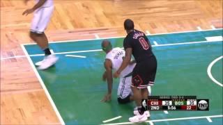 Dirtiest NBA Plays 2017 part 1