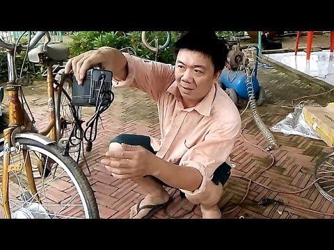 Anh Nông Dân Chế,lắp Ráp Xe đạp Thường Thành Chiếc Xe đạp Chạy điện 40 Km/h