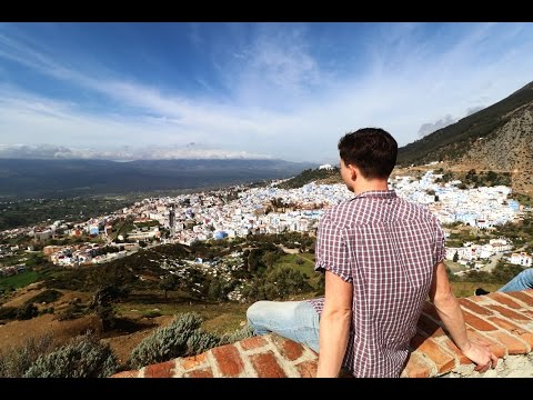 INCREDIBLY BEAUTIFUL CHEFCHAOUEN - The Blue Pearl