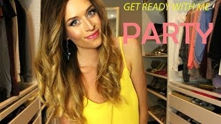 Get ready with me for a Party