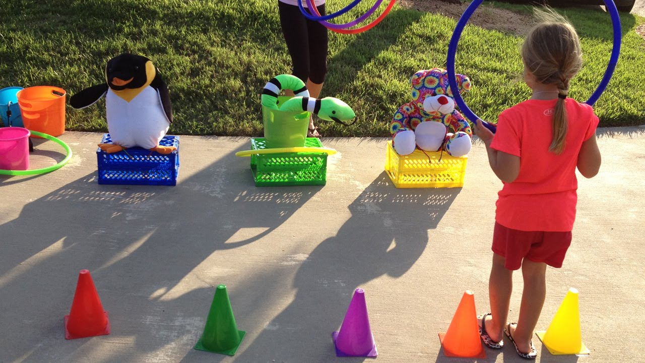 School Carnivals Hoop A Toy Carnival Game Idea Youtube