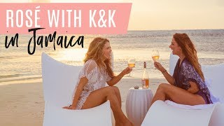 Rosé with K&K in Jamaica ~ How to Beat a Plateau, Beauty Products, Tanner, & Hiccups!