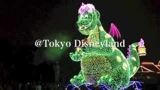 エレクトリカル・パレード ピートとドラゴン 東京ディズニーランド Electrical Parade @TokyoDisneyland Aug 2015