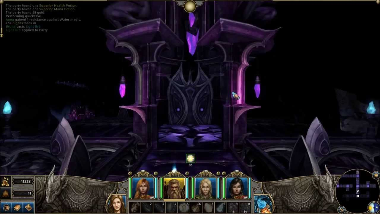 Might and Magic X Legacy Tomb of Terrors Level 4 Walkthrough