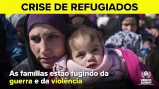 Apoie os refugiados da Síria