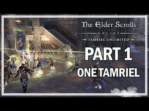 The Elder Scrolls Online One Tamriel - Let's Play Part 1 - NEW ULTIMATES