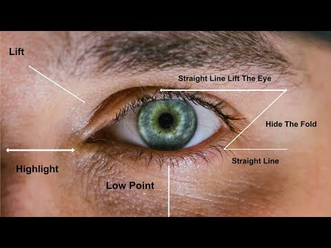 THE OPEN EYE TECHNIQUE FOR HOODED EYES - FULL DEMO!!!!