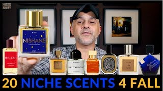 Top 20 Niche Fragrances For Fall/Autumn 🍂 🍁
