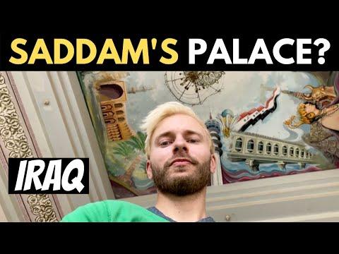 Visiting Saddam Hussein's PALACE? (Iraq)