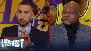 Antoine Walker: Lakers need player's coach for LeBron, OKC's playoff run   NBA   FIRST THINGS FIRST