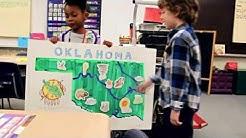 Grayson Brandal  MI project on Oklahoma presentation Thomas Jefferson Elementary