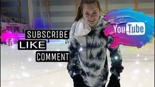 Trying out Hockey Skates - Abbie's Vlogs 'N' Stuff - #iceskating #instagram #learning #fun #winter