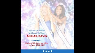 National American Miss Farewell DVD by Pageants 2 Go - Abigail Maiden