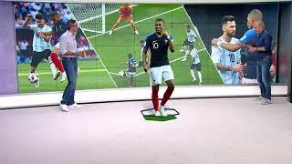 FUSSBALL-WM 2018: Frankreichs Kylian Mbappé ist der neue Superstar der Weltmeisterschaft