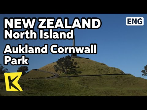 【K】New Zealand Travel-North Island[뉴질랜드 여행-북섬]오클랜드 콘월파크/Cornwall Park/One Tree Hill/Aukland