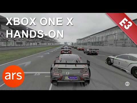 Gaming on Microsoft's new Xbox One X | E3 2017 | Ars Technica