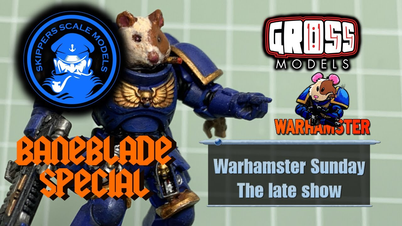 Warhamster Sunday: The Ted Baneblade special 28/6/20