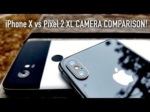 iPhone X vs Pixel 2 XL Full Camera Test Comparison