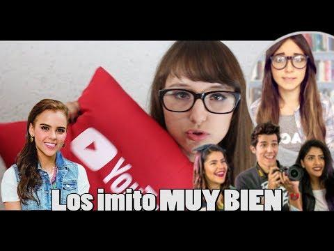 IMITANDO YOUTUBERS| Patty Meza💜