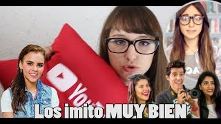 IMITANDO YOUTUBERS| Patty Meza💜