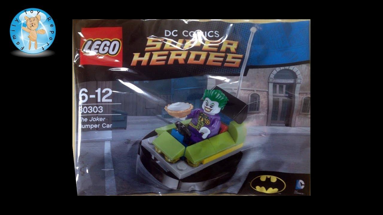 LEGO 30303 Dc Comics Super Heroes Batman The Joker Bumper Car New