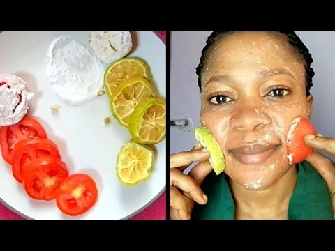 Thumbnail: HOW QUICK DO THEY WHITEN THE SKIN?? THE DIFFERENCE BETWEEN LEMON, TOMATOES & BAKING SODA SCRUB
