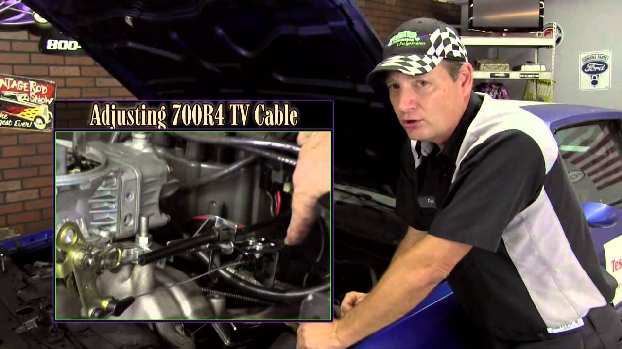 Tech Tip | Adjusting 700R4 TV Cable  YouTube