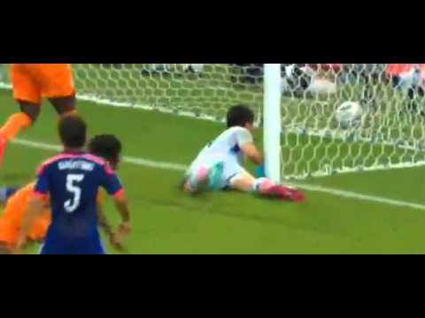 Ivory Coast vs Japan 2-1   All Goals